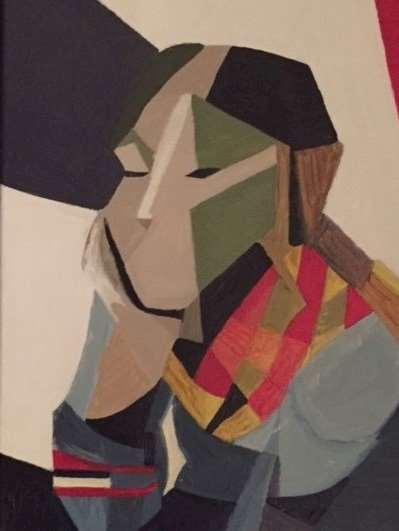 Målning av Janne B. Liess