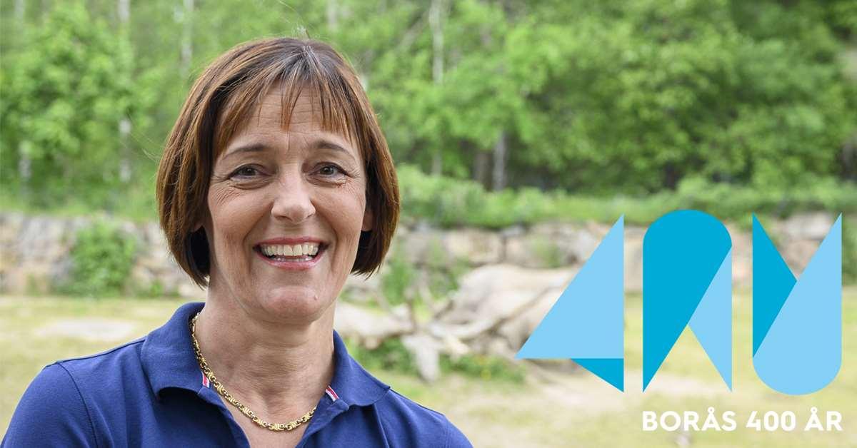 Jeanette Lindström, VD Borås Djurpark