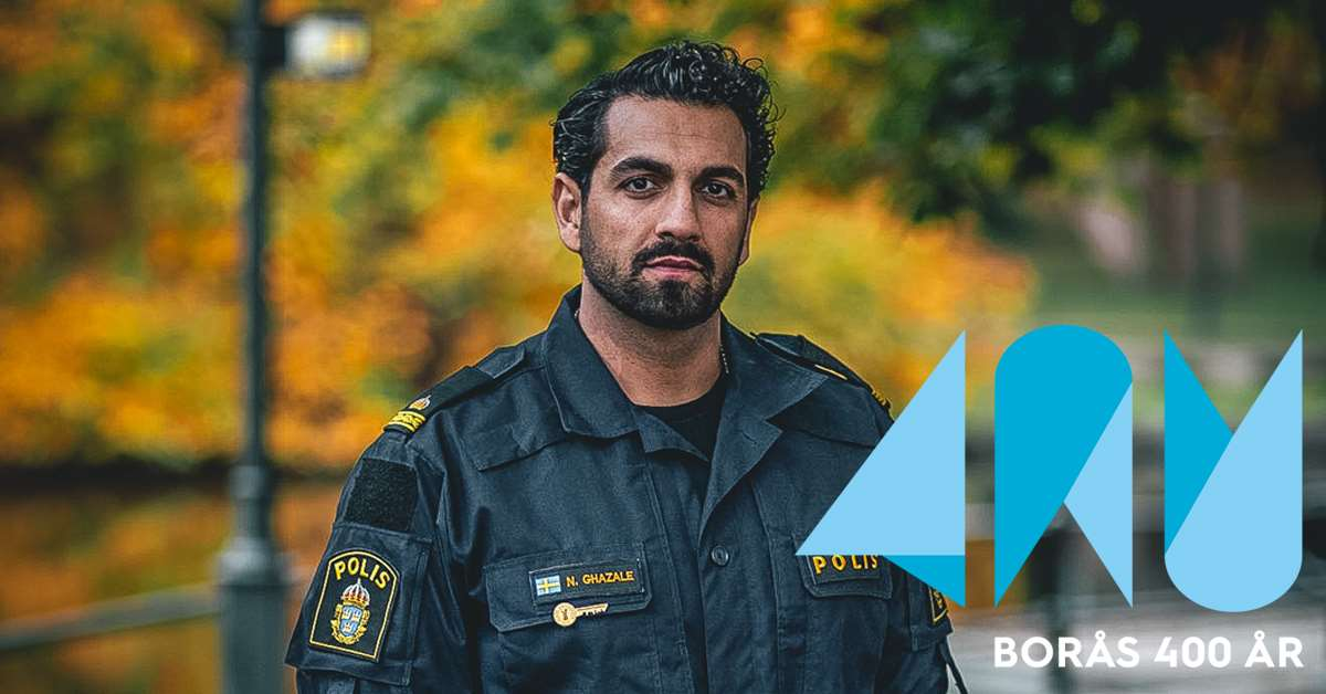 Läsprofil: Nadim Ghazale, polis och Boråsambassadör 2020