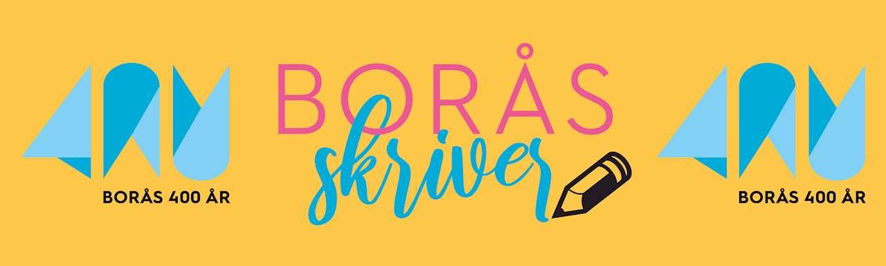 Borås skriver. Borås fyller 400 år och vi firar med ett skrivprojekt där vi vill samla in era berättelser om hur det är att vara Boråsare idag.