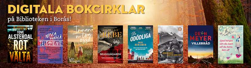 Digitala bokcirklar på biblioteken i Borås